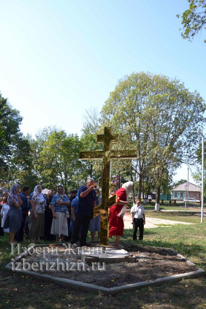 28 августа 2021 Установка креста в горсаду_155
