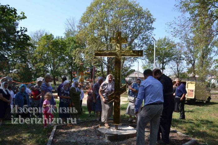28 августа 2021 Установка креста в горсаду_167