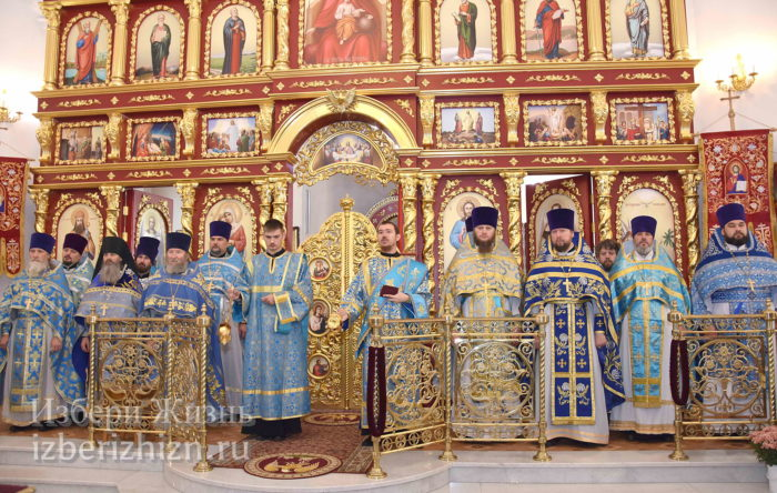 22 октября 2021 - владыка в Богоявленском храме_29