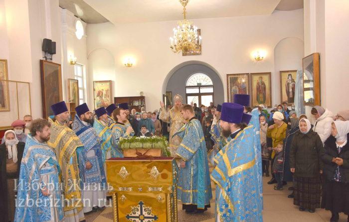 22 октября 2021 - владыка в Богоявленском храме_30