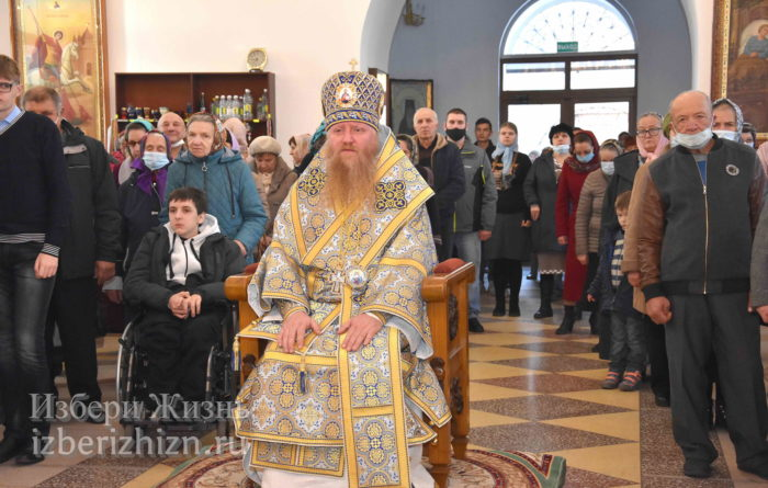 22 октября 2021 - владыка в Богоявленском храме_31