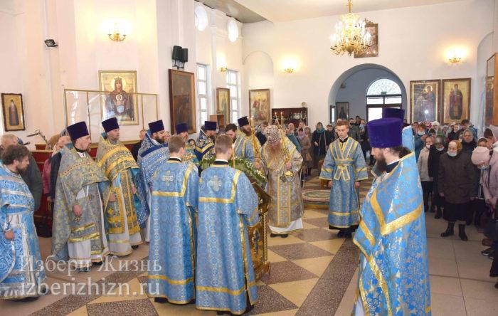 22 октября 2021 - владыка в Богоявленском храме_33