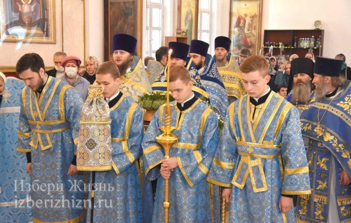 22 октября 2021 - владыка в Богоявленском храме_34