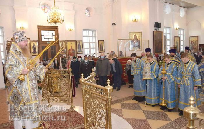 22 октября 2021 - владыка в Богоявленском храме_35