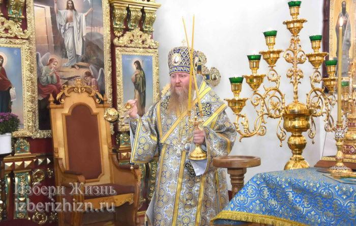22 октября 2021 - владыка в Богоявленском храме_36