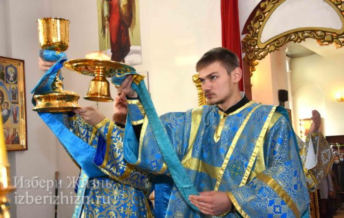 22 октября 2021 - владыка в Богоявленском храме_61