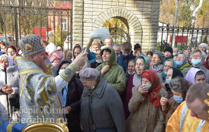 22 октября 2021 - владыка в Богоявленском храме_80