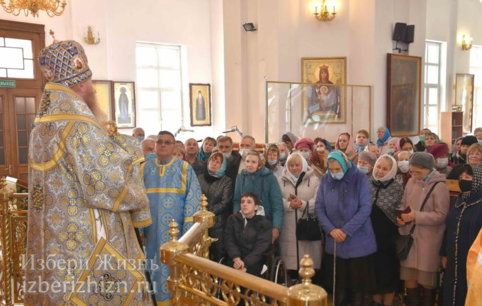 22 октября 2021 - владыка в Богоявленском храме_83