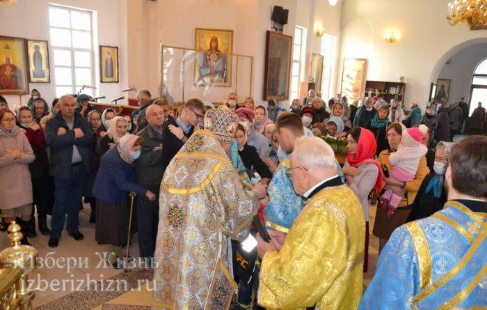 22 октября 2021 - владыка в Богоявленском храме_84